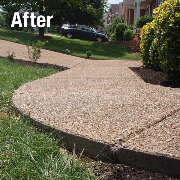 Northern Virginia Concrete Sidewalk Leveling - After