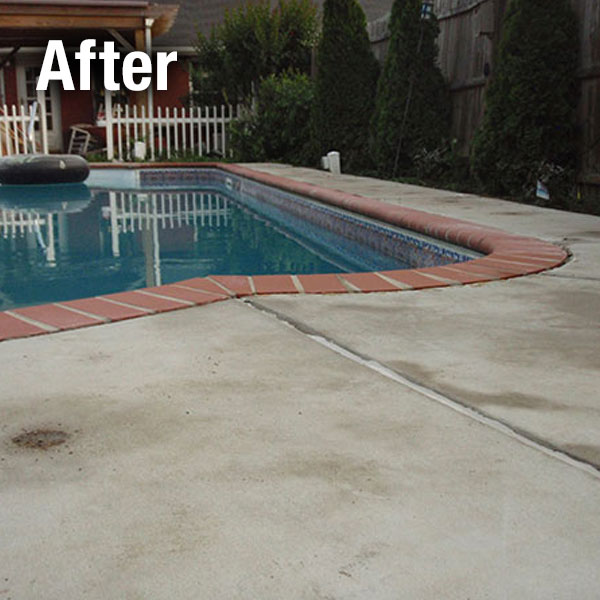 Northern Virginia, Concrete Pool Deck Leveling - After