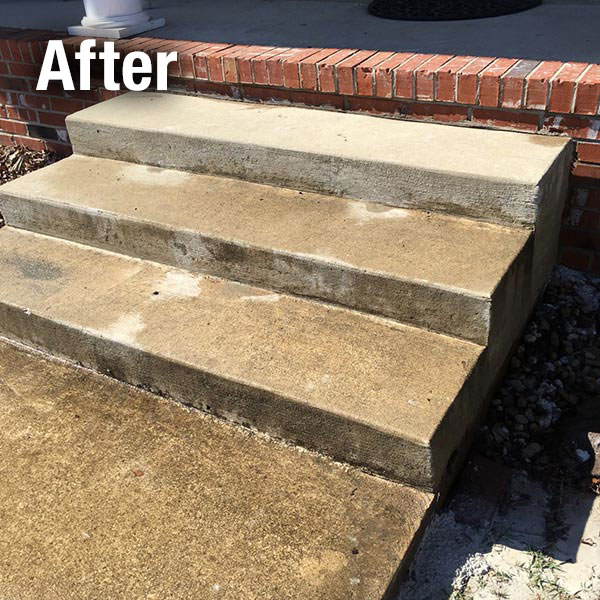 Northern Virginia Concrete Step Repair - After