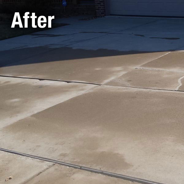 A-1 Concrete Northern Virginia Driveway Leveling After