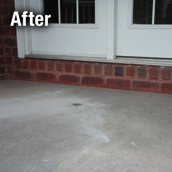 Northern Virginia Concrete Porch Leveling - After